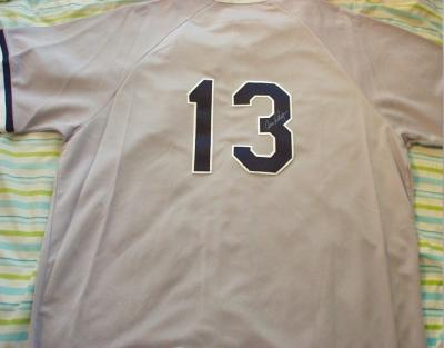 Alex Rodriguez autographed New York Yankees authentic road jersey
