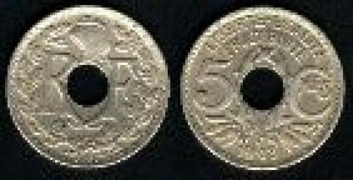 5 centimes; Year: 1914-1920; (km 865)