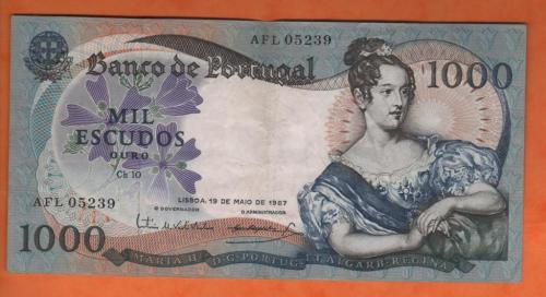 Portugal 1000es 1968