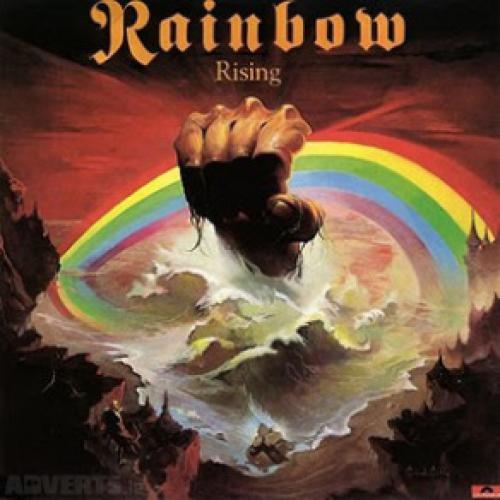 gramophone record-Rainbow-RISING-1976