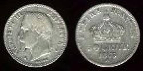 50 centimes; Year: 1864-1869; (km 814)