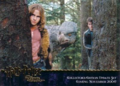 Harry Potter and the Prisoner of Azkaban Update GOLD FOIL promo card 4