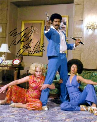 Michael Jai White autographed Black Dynamite 8x10 photo