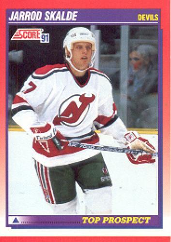 1991-92 Score Bilingual: # 282 Jarrod Skalde