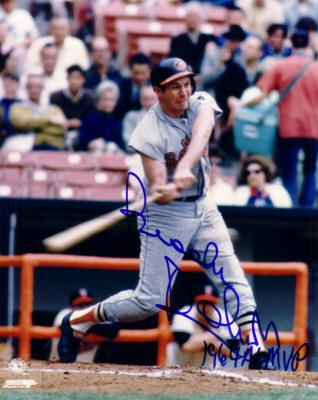 Brooks Robinson autographed Baltimore Orioles 8x10 photo inscribed 1964 AL MVP