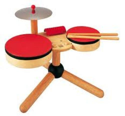 Plan Toys drum set