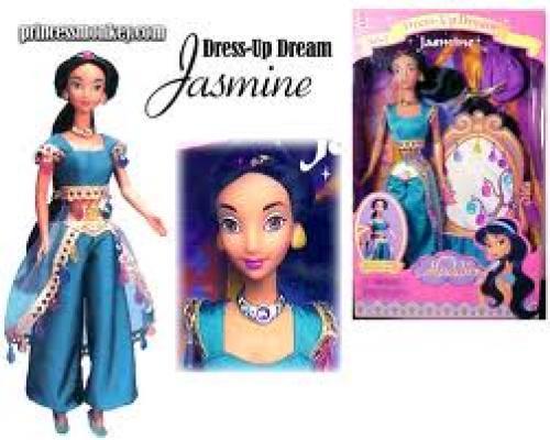 Dolls; Dress-up Dreams Jasmine doll (1998)