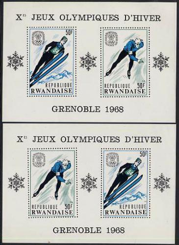 Olympic Winter Games 2 s/s; Year: 1968