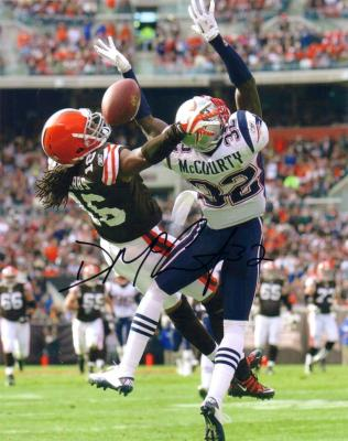 Devin McCourty autographed New England Patriots 8x10 photo