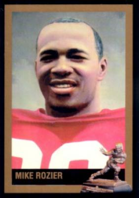 Mike Rozier Nebraska 1983 Heisman Trophy winner card
