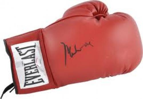 Muhammad Ali Memorabilia Items; Boxing Gloves