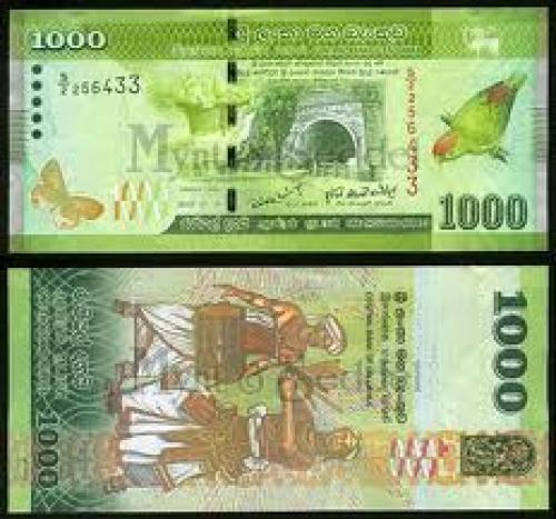 Banknotes; Sri Lanka 1000 rupees; Banknotes