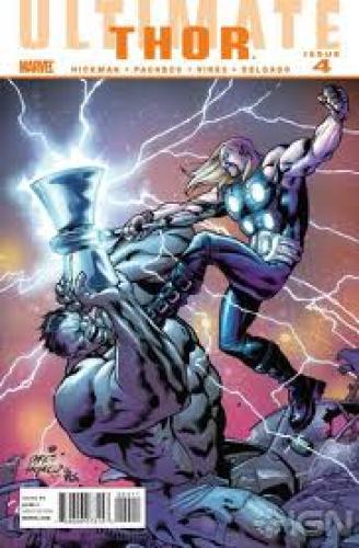 Comics; Ultimate Comics Thor #4 Cover