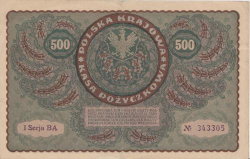 500 Marek 1919