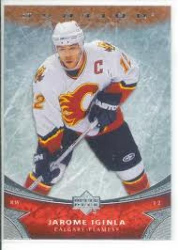 Hockey Card; 2006-07 Upper Deck Ovation 157 Jarome Iginla