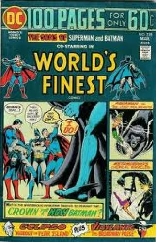 Comics; Download World's Finest Comics #228. TITLE: World's Finest