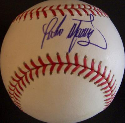 Pedro Martinez autographed MLB baseball