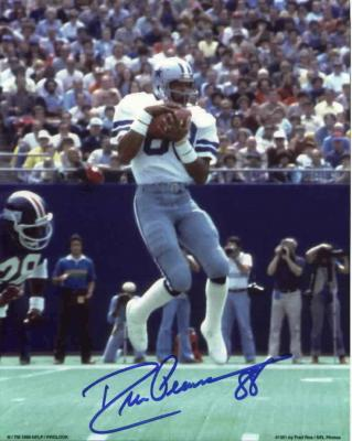 Drew Pearson autographed 8x10 Dallas Cowboys photo