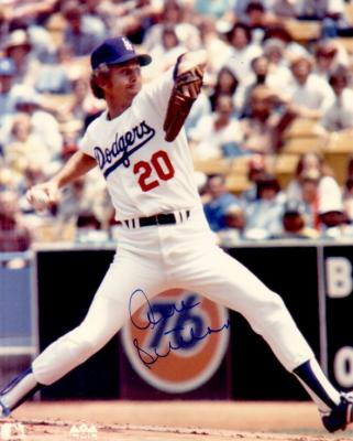Don Sutton autographed Los Angeles Dodgers 8x10 photo