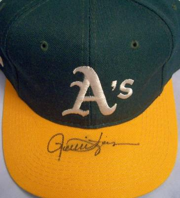 Rollie Fingers autographed Oakland A&#039;s cap or hat
