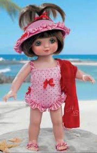 Dolls; Marie Osmond Dolls - 2005. Adora Beach
