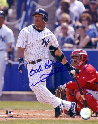 Gary Sheffield autographed New York Yankees 8x10 photo