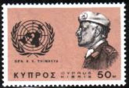 K.S. Thimayya 1v; Year: 1966