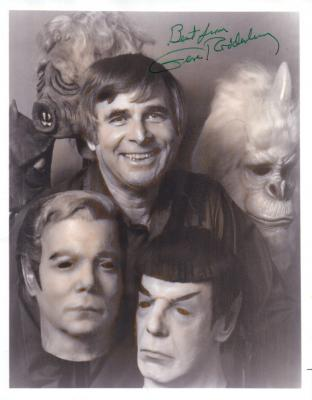 Gene Roddenberry autographed Star Trek 8x10 photo