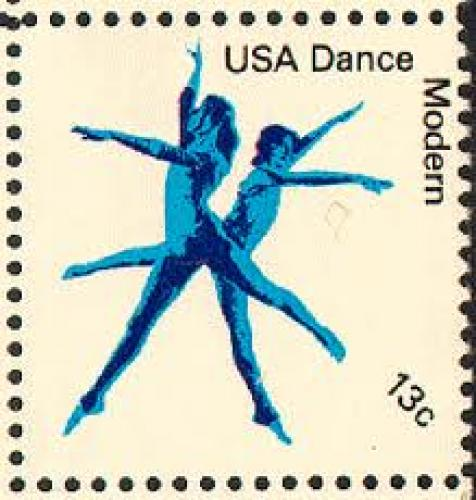 US Modern Dance Stamp