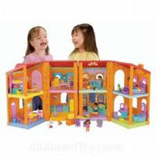 Dora the explorer toy   magical welcome dollhouse