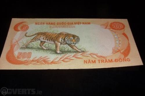 South Vietnam dong 500-1972
