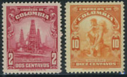 Definitives 2v; Year: 1935