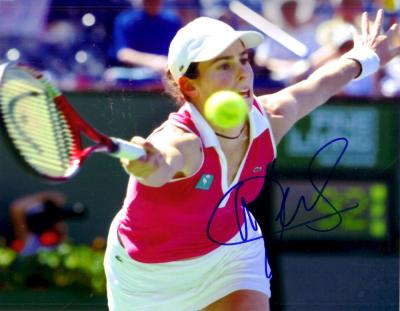 Nathalie Dechy autographed 8x10 tennis photo