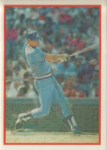 1987 Sportflics #3 ~ Dale Murphy * FREE SHIPPING *