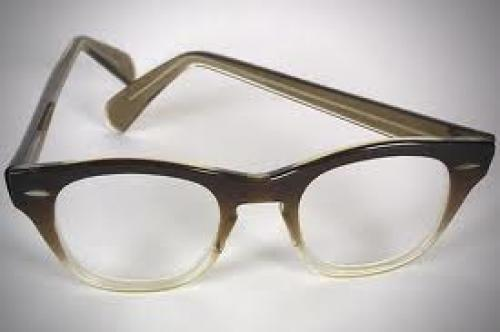 Memorabilia; This pair of Bausch & Lomb eyeglasses were worn by President Richard Nixon