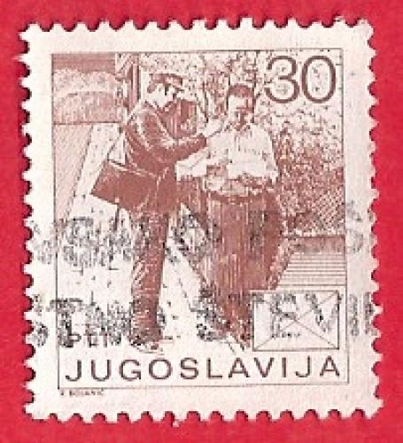 Jugoslavija - Poštar