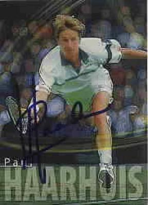 Paul Haarhuis autographed 2000 ATP tennis card