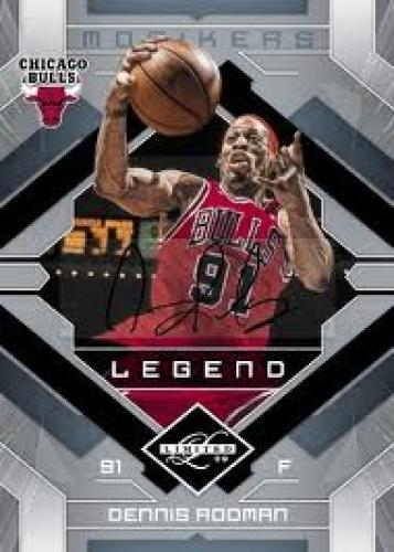 Basketball Card; 2009-10 Panini Limited Basketball Card; Dennis Rodman Chicago Bulls