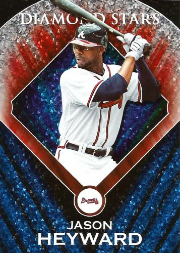2011 Topps Diamond Stars #DS-13 ~ Jason Heyward