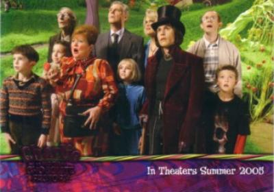 Charlie and the Chocolate Factory 2005 ArtBox promo card 02