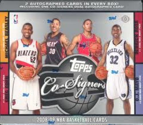 Basketball Card; Topps Co Signers Basketball 2008-09 NBA Basketball