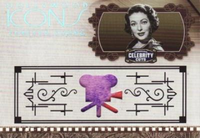 Loretta Young worn clothing swatch Donruss Americana card #20/100