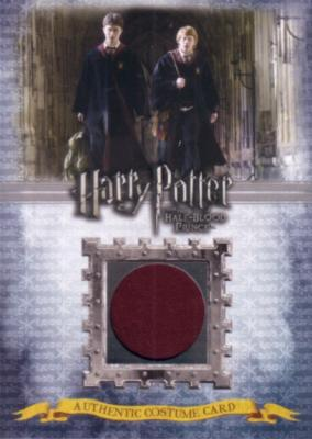 Harry Potter and the Half-Blood Prince Gryffindor Students costume card Ci1 #12/430