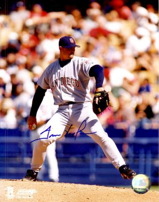 Trevor Hoffman autographed 8x10 San Diego Padres photo