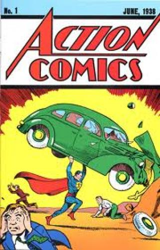 Comics; In March 2010, Action Comics #1 went up for auction via the online