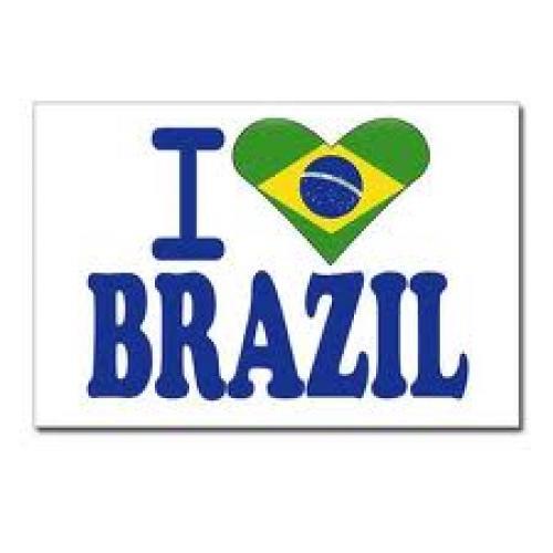 I love Brazil Postcards