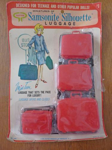 1960s Samsonite Luggage for Barbie