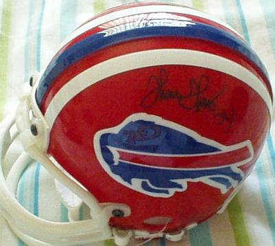 Thurman Thomas autographed Buffalo Bills mini helmet