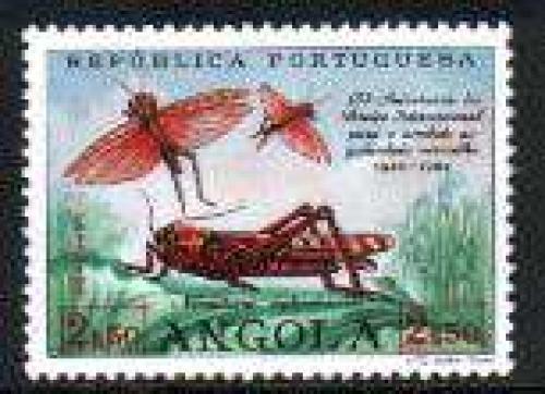 Red grasshopper 1v; Year: 1963