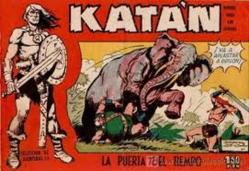 Comics; Katan Sword & Sorcery Comics 1950s